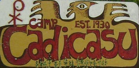 camp logo sign